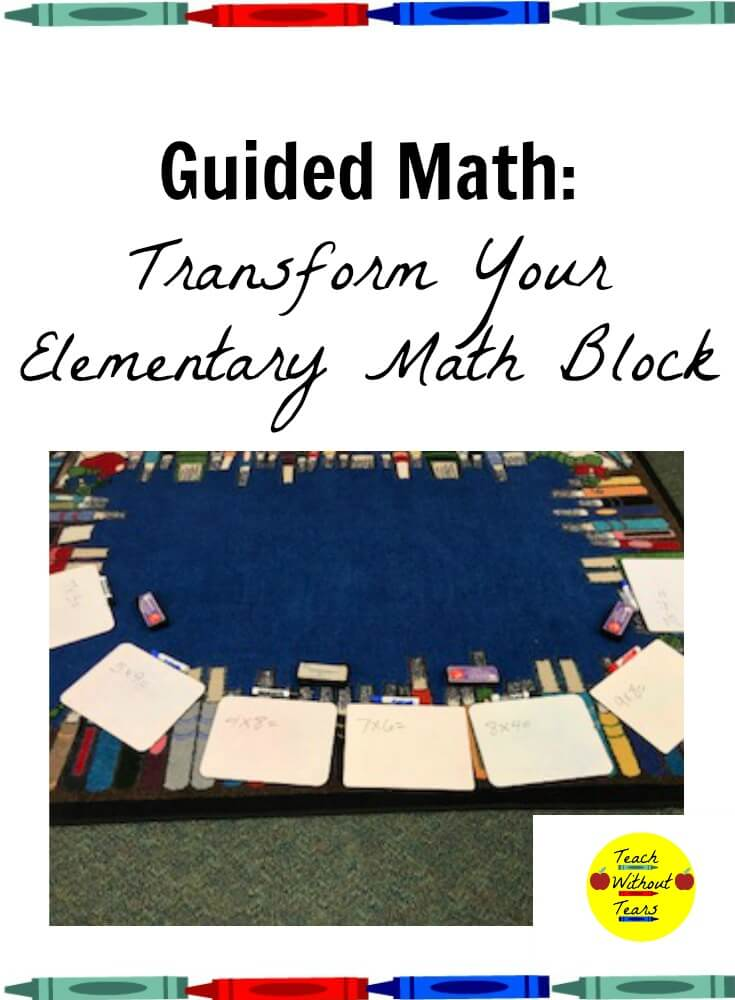 Find out how to use guided math to meet the needs of all your math students.