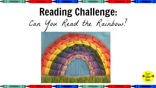 Use the Can You Read the Rainbow Reading Challenge to motivate your students to read different genres.