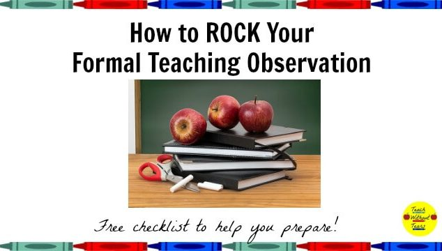 teaching observation master