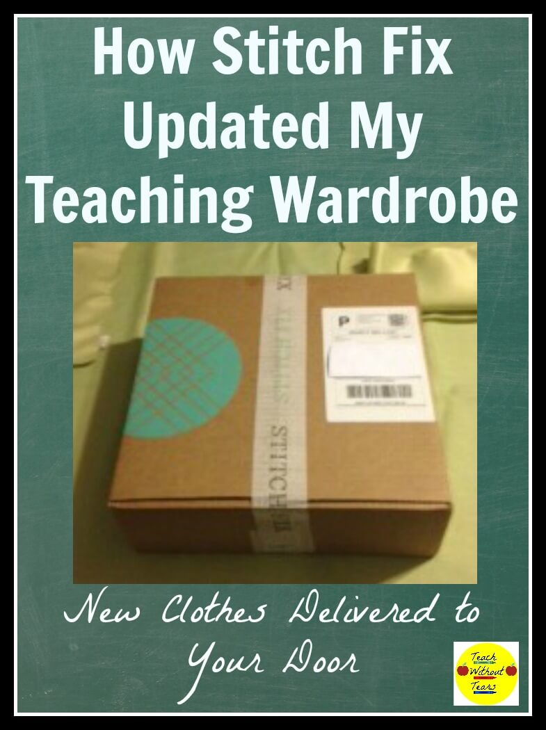 Are you looking for new clothes for teaching? Try Stitch Fix, and have a personal stylist deliver clothing to your door.