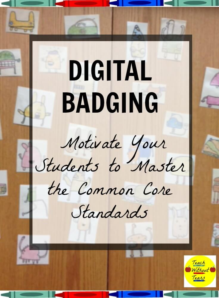 Your students will love collecting the characters through digital badging!