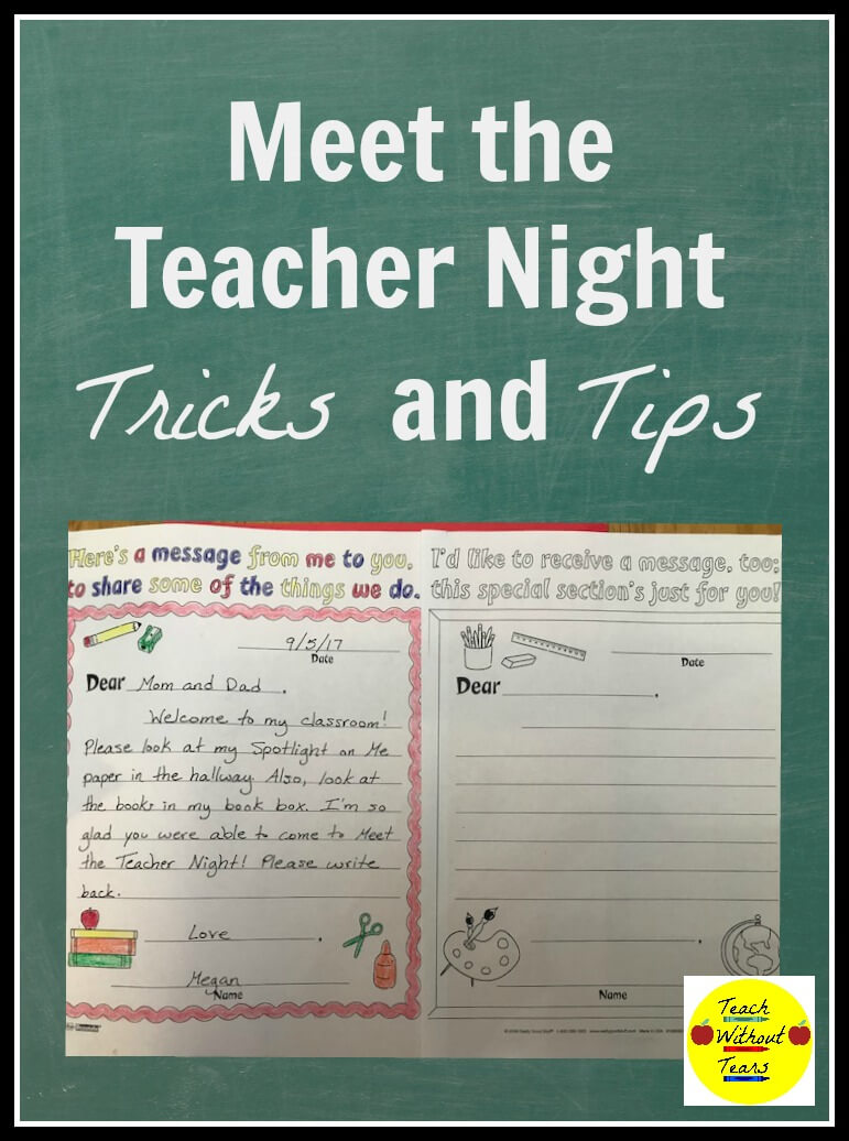 Reduce the stress of Meet the Teacher Night with these tips and tricks.