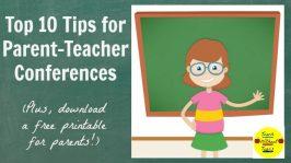 Top 10 Tips for Parent-Teacher Conferences