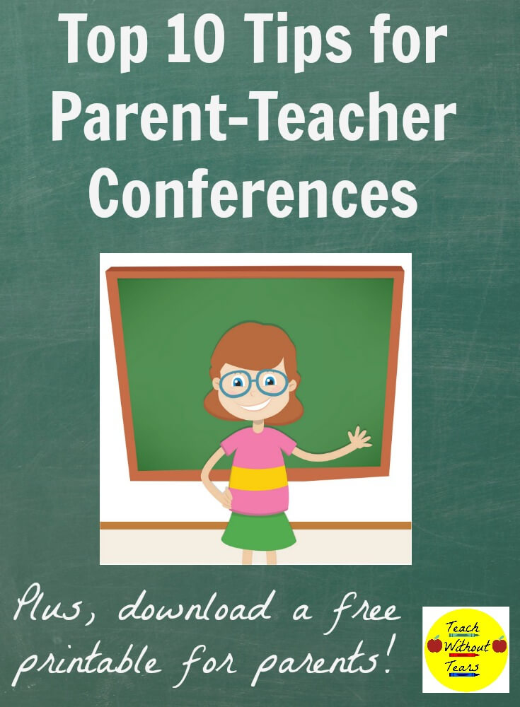 Use these tips to make sure your parent-teacher conferences go smoothly.