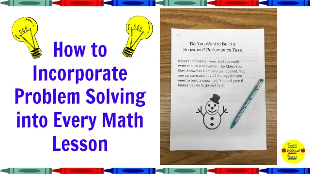 Problem solving is an important math skill. Use these tips to incorporate it into every math lesson.