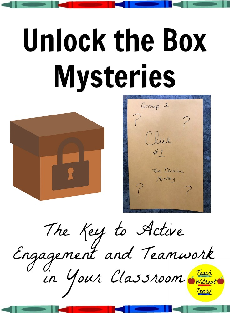Unlock the Box Mysteries are the key to active engagement and teamwork in your classroom.
