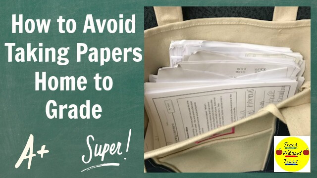 Are you spending your free time grading papers? Use these strategies to get the grading done at school, and reclaim your evening and weekend hours.