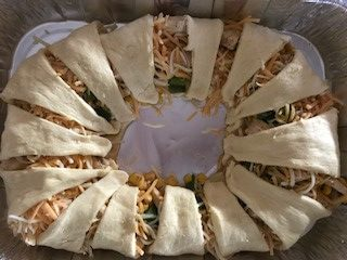 chicken taco grande, one of the cold weather make ahead meals