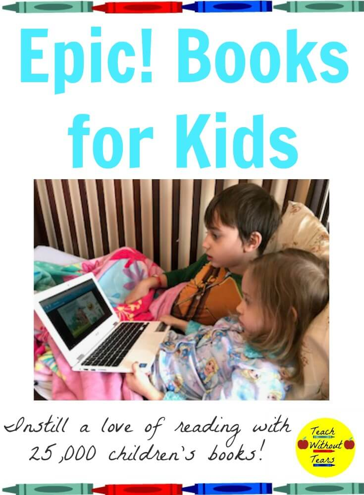 Epic! books for kids is a great way to inspire a love of reading in your kids. With 25,000 children's books, everyone can find something they enjoy!