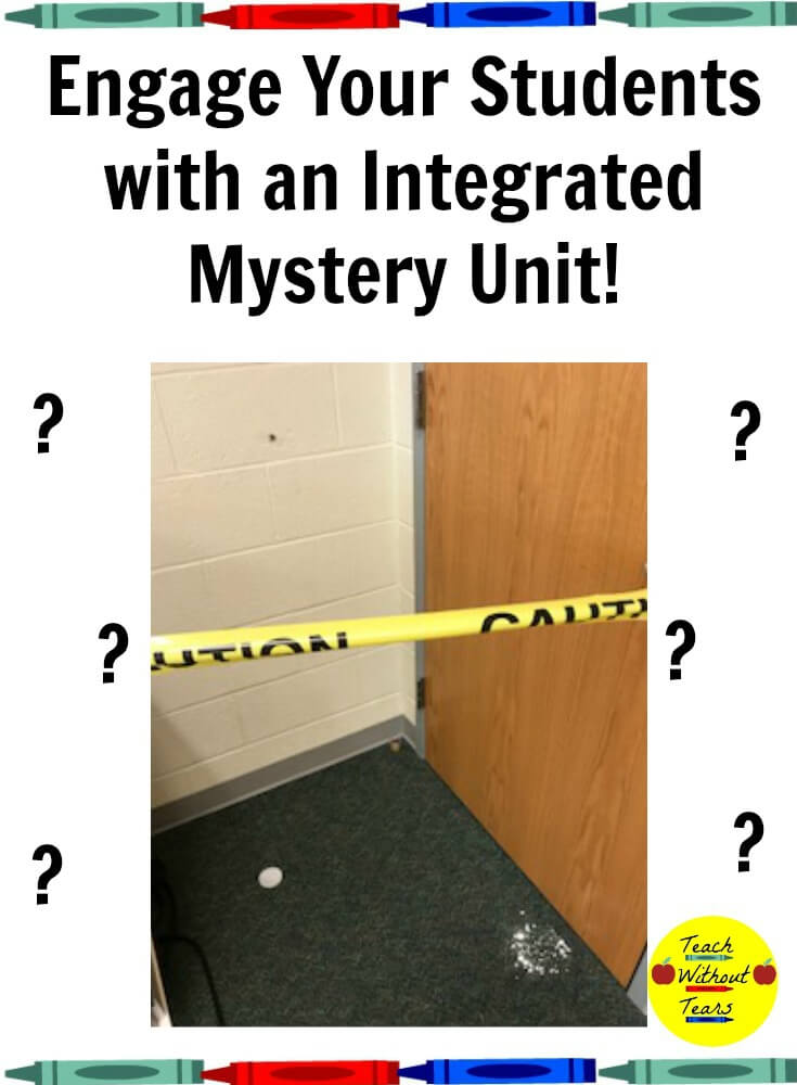 Get your students excited to learn science, reading, and writing with this integrated mystery unit. Your students will step into the role of detectives to solve the case.
