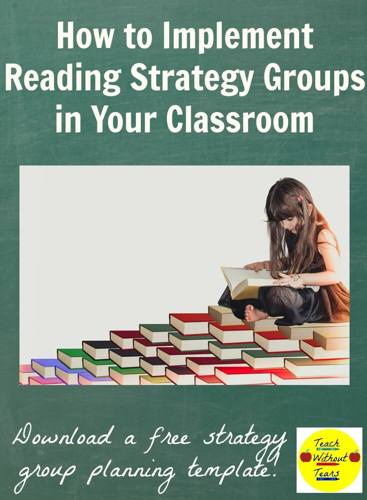 Strategy groups are the best way to meet the needs of all the readers in your classroom. Find out how they are different from guided reading groups, how to set them up, and download a free copy of my planning template.