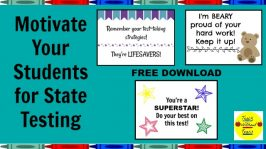 Motivate Your Students for State Testing