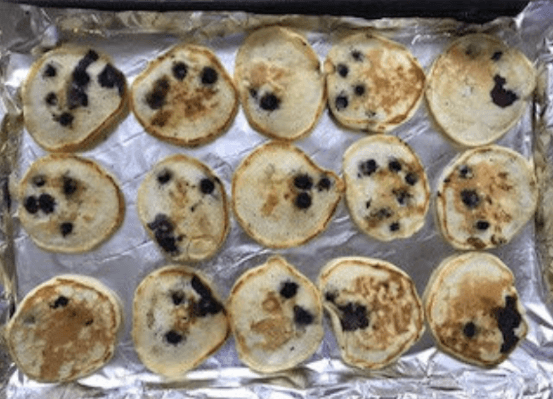 blueberry pancakes freezer meals