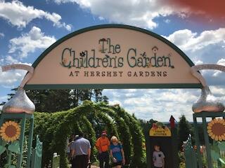 Hershey Gardens in Hershey, Pennsylvania