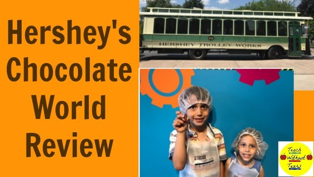 There are so many fun activities to do at Hershey's Chocolate World. Make your own chocolate, watch a 4-D movie, and enjoy a fun ride in the Sweetest Place on Earth.