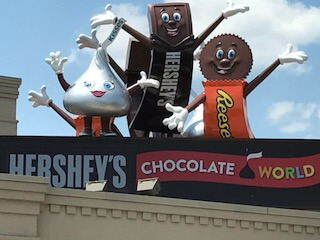 Chocolate World in Hershey, Pennsylvania