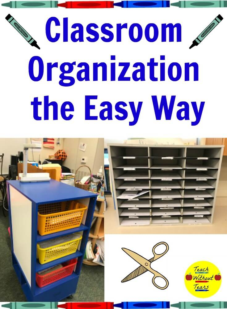 Classroom organization can be a challenge. These tools make it easy to keep your classroom organized and running smoothly.