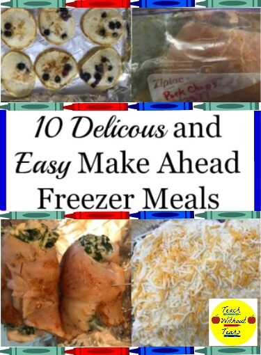 if your evenings are busy, freezer meals are a great way to get dinner on the table. Try these 10 delicious and easy recipes, and stock your freezer for those busy evenings.