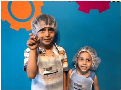 making chocolate at Hershey's Chocolate World