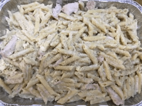 penne pasta with chicken freezer meals
