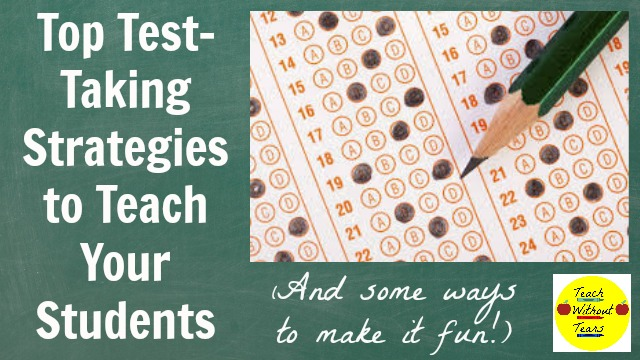 Teach your students these test-taking strategies to help them succeed on state tests.