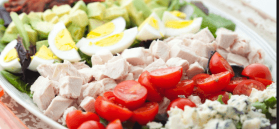 cobb salad to use leftover hard boiled eggs