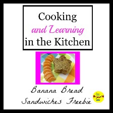 "Cooking and Learning in the Kitchen, a fun learning activity to beat the ""summer slide"""