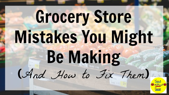 Are you making these grocery store mistakes? Find out what they are and how to fix them, and start saving lots of money.