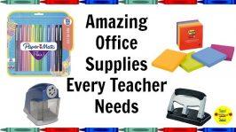 Amazing Office Supplies Every Teacher Needs