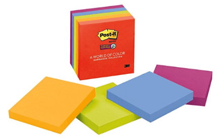Post-Its, one of the amazing office supplies every teacher needs