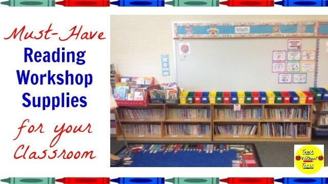 Must-Have Reading Workshop Supplies for Your Classroom