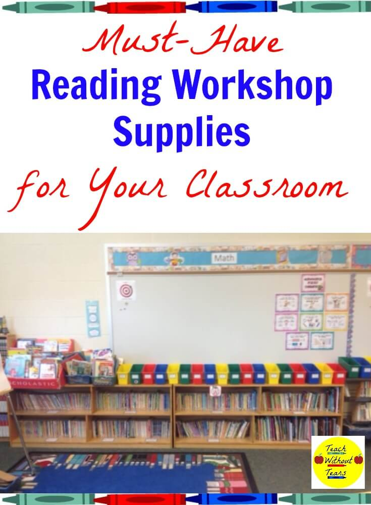 These reading workshop supplies will help your reading block run more smoothly.