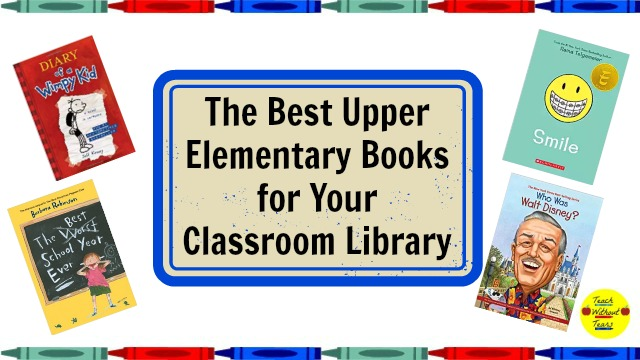 Check out these upper elementary books that are great additions to your classroom library.