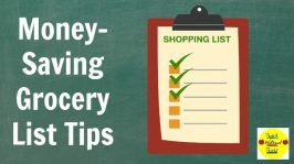 Money-Saving Grocery List Tips