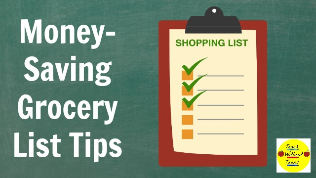 Money-Saving Grocery List Tips