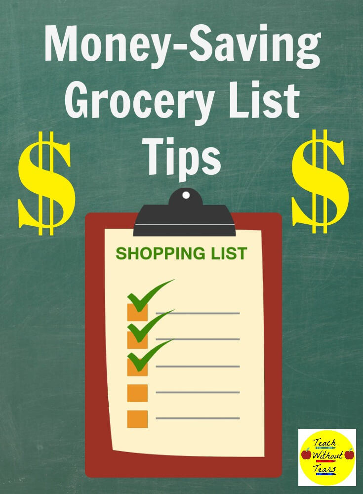 Your grocery list can help you save lots of money. Use these tips next time you go to the grocery store.