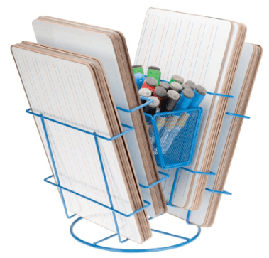 a whiteboard organizer, one of the must-have guided math supplies
