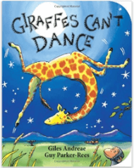 Giraffes Can't Dance, one of the back to school picture books