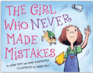 The Girl Who Never Made Mistakes, one of the back to school picture books