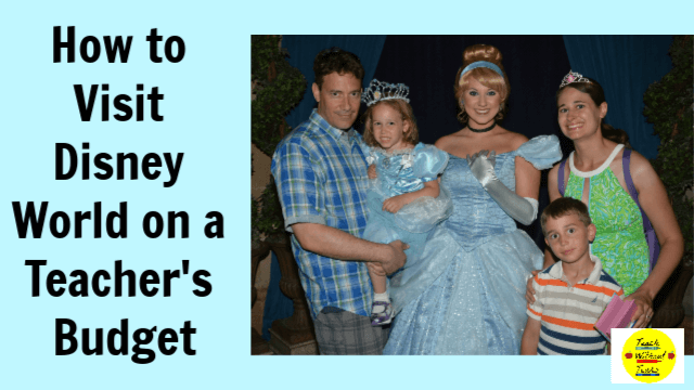Planning a vacation to Disney World can be very expensive. Here are some tips for visiting Disney World on a teacher's budget.