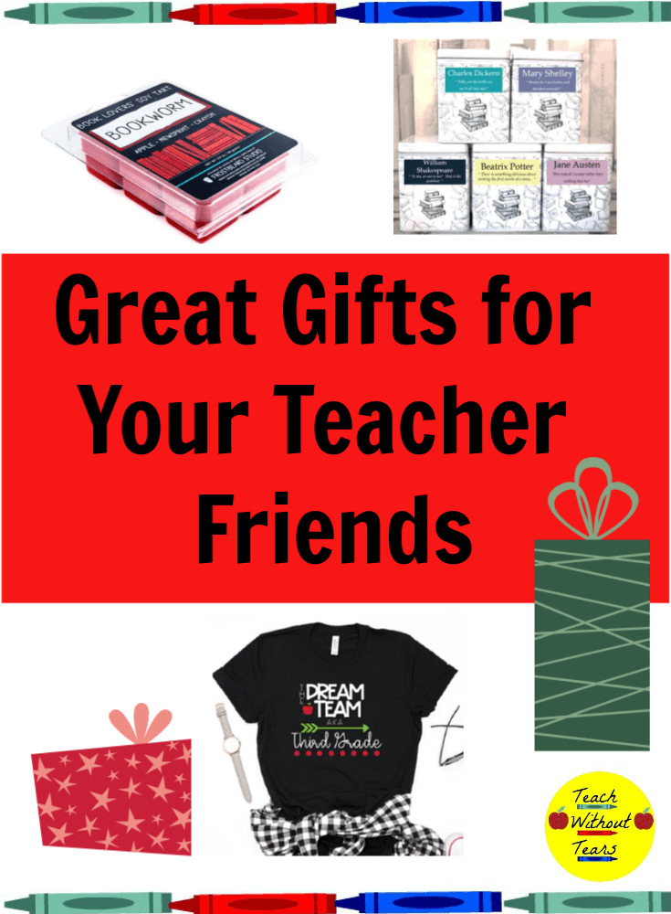 Buying great gifts for your teacher friends can be a challenge. Check out these special and personalized gift ideas.