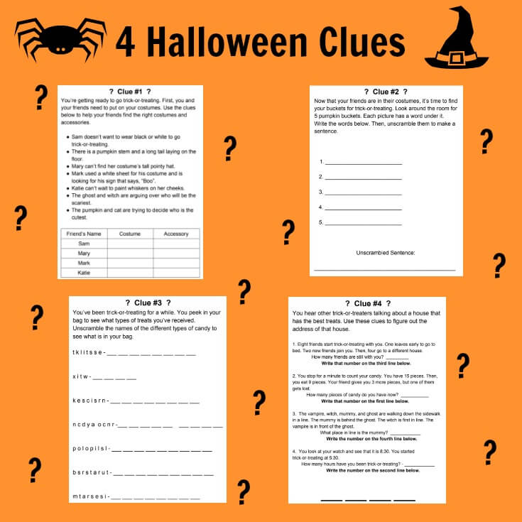 Unlock the Box Mystery, one of the 5 fun Halloween activities for your classroom