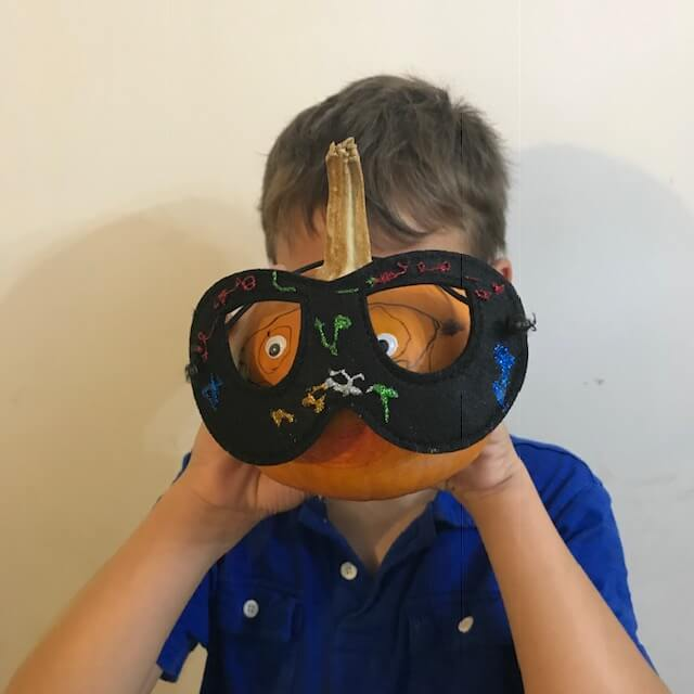 pumpkin head writing, one of the 5 Halloween activities for your classroom