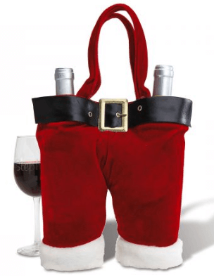 Santa wine holder, one of the great gifts for your teacher friends