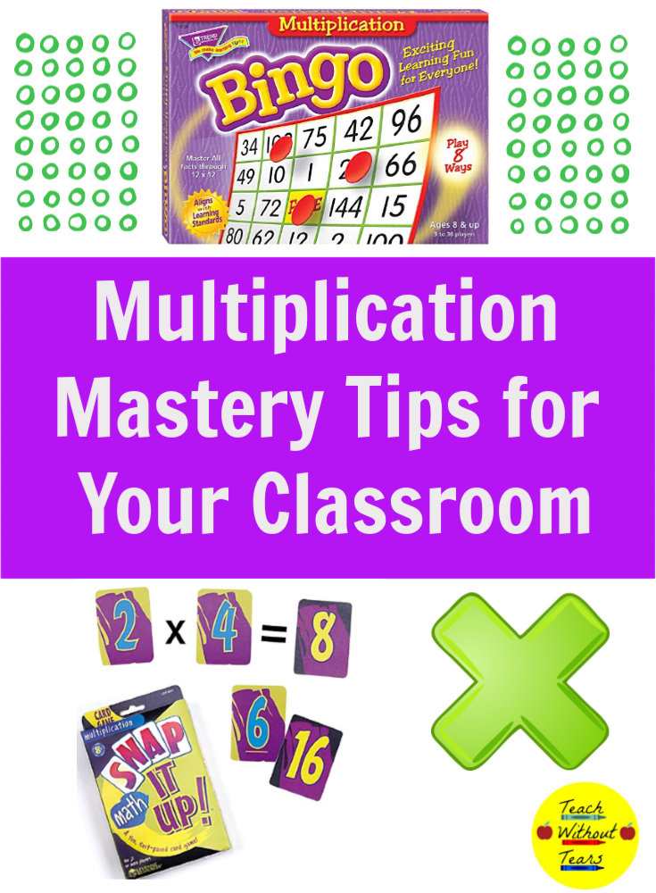 Do your students struggle with fact fluency? Use these multiplication mastery tips in your classroom.