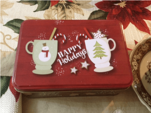 holiday tea party favors