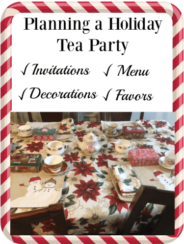 A holiday tea party is the perfect way to celebrate the holiday season. Find out how to plan the invitations, decorations, and food.