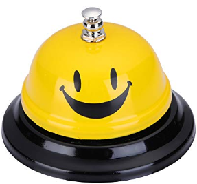 get your students' attention with a call bell