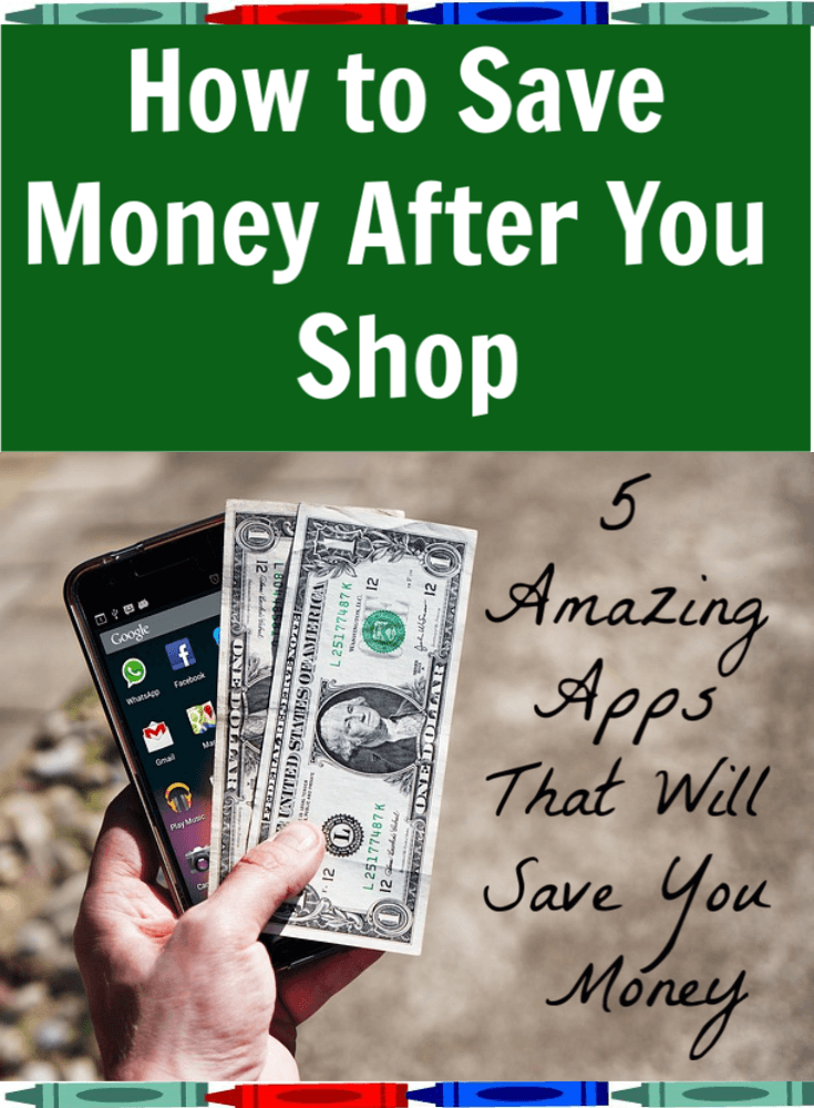 You can save money even after you've finished shopping. Try these 5 apps that will save you hundreds of dollars.