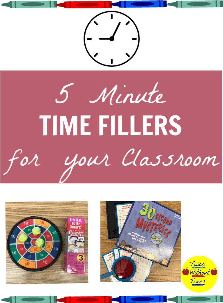 Your lesson ends 5 minutes early. What do you do in that time? Click to discover some perfect activities for those few extra minutes in your school day.